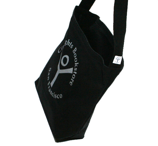 【City Lights Bookstore】 Logo Shoulder Bag (Black)