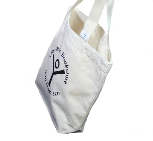 【City Lights Bookstore】 Logo Tote Bag (Natural)