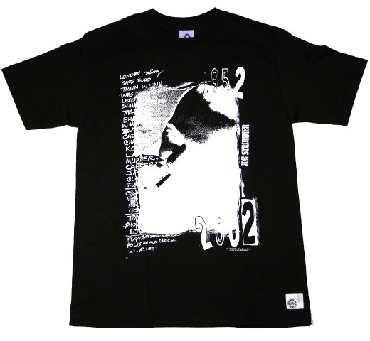 The Clash / 1982 Japan Tee (Black)