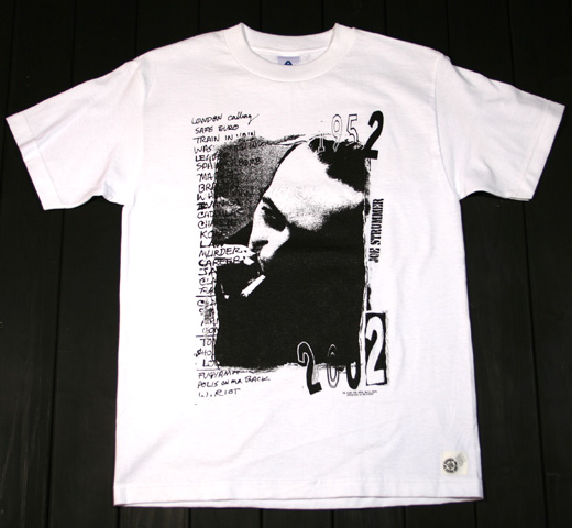 The Clash / 1982 Japan Tee (White)