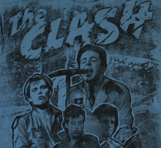 The Clash / Black Market Clash Tee (Denim Blue)