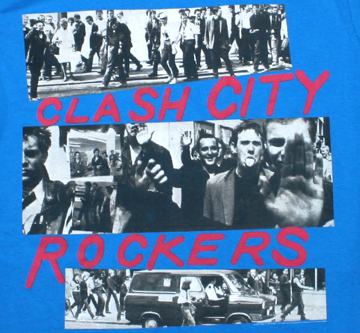 The Clash / Clash City Rockers Tee (Blue)