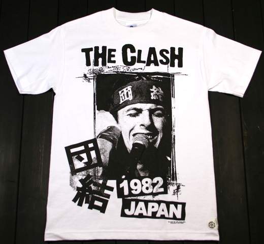 The Clash / 1982 Japan 【団結】 (White)