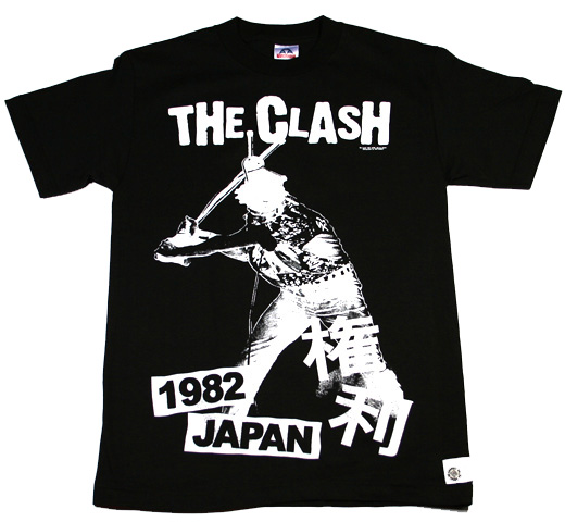 The Clash / 1982 Japan 【権利】 (Black)