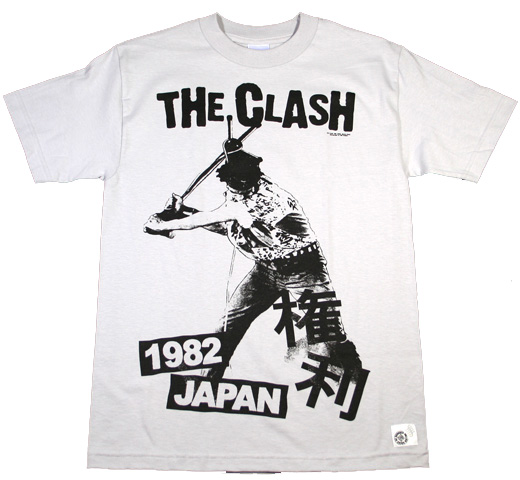 The Clash / 1982 Japan 【権利】  (Silvergray)