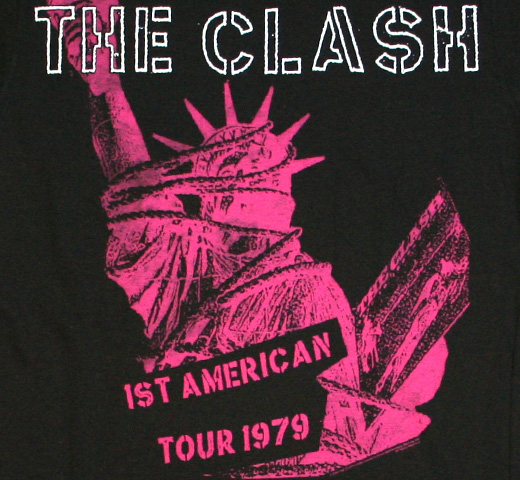 The Clash / 1st American Tour 1979 Tee (Charcoal) (Womens)