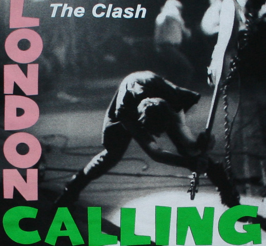 The Clash / London Calling Tee 2 (Black)