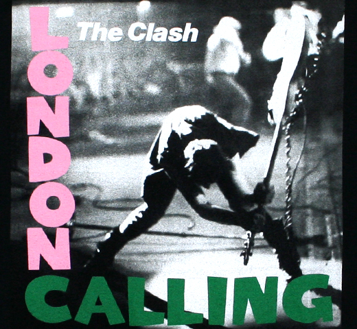 The Clash / London Calling Tee 3 (Black)