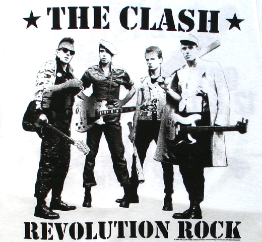 The Clash / Revolution Rock Tee (White)