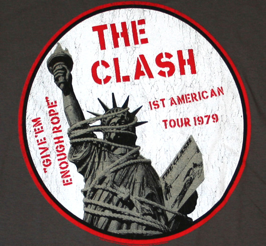 The Clash / Give'em Enough Rope Tee