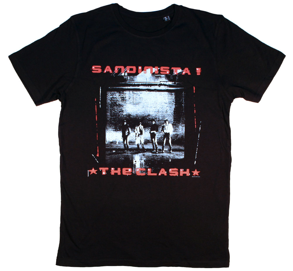 The Clash / Sandinista! Tee (Black)