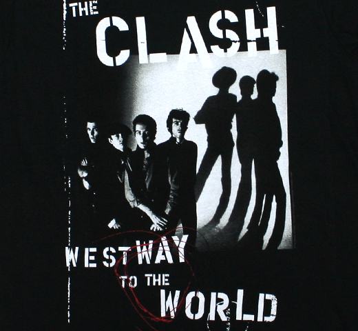 The Clash / Westway to the World Tee (Black)