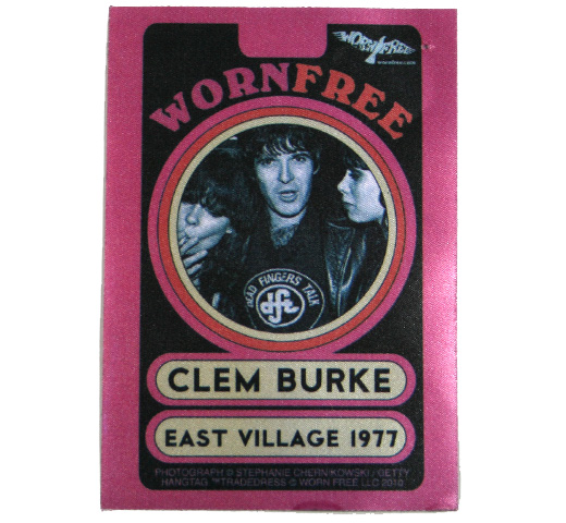 【Worn Free】 Clem Burke / Dead Fingers Talk Tee (Black)