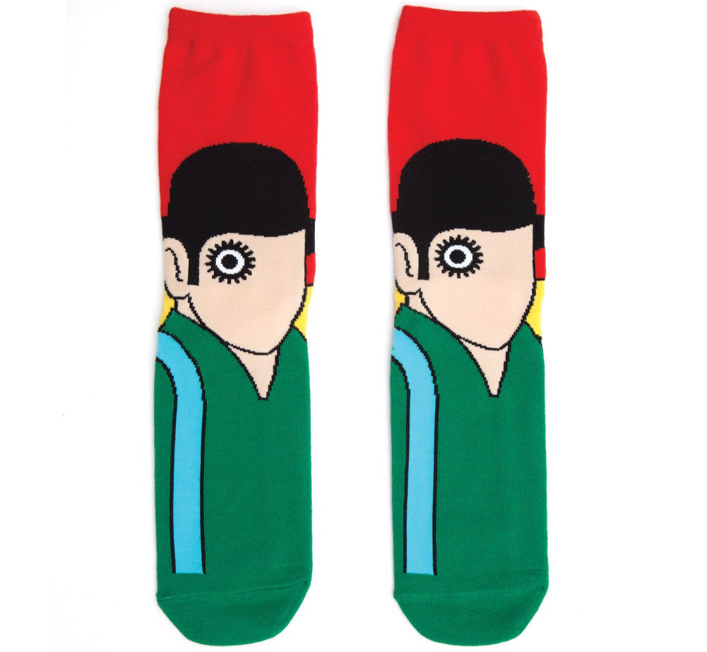 [Out of Print] Anthony Burgess / A Clockwork Orange Socks