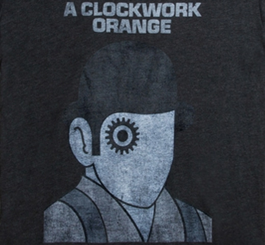 【Out of Print】 Anthony Burgess / A Clockwork Orange Tee (Black)