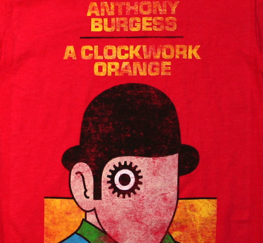 【Out of Print】 Anthony Burgess / A Clockwork Orange Tee (Red)