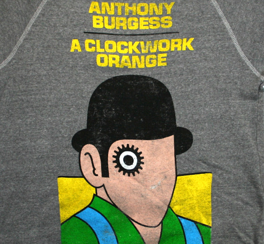 【Out of Print】 Anthony Burgess / A Clockwork Orange Fleece (Heather Grey)