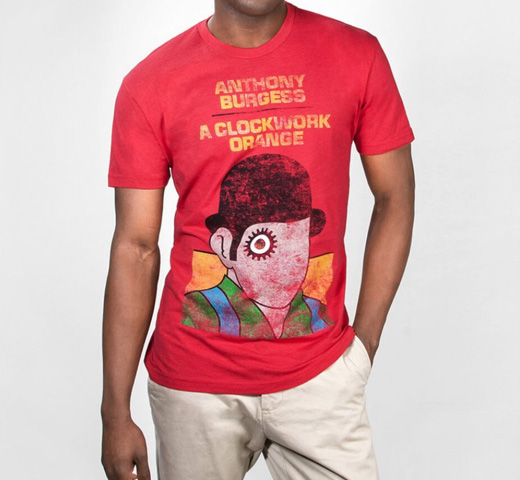 [Out of Print] Anthony Burgess / A Clockwork Orange Tee (Red)