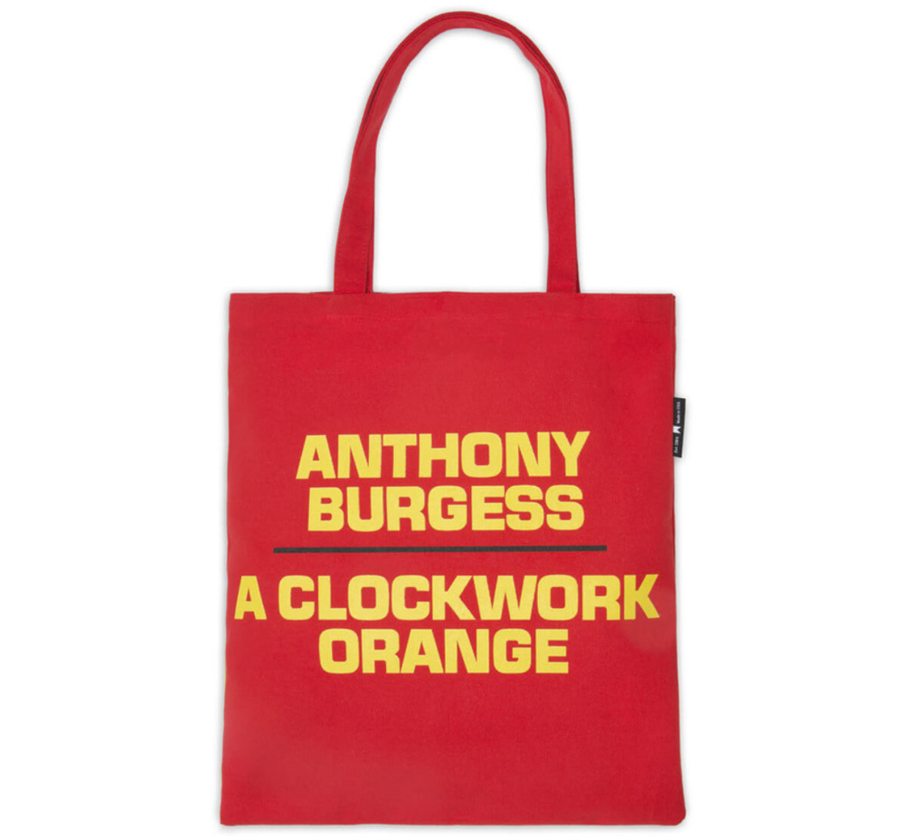 [Out of Print] Anthony Burgess / A Clockwork Orange Tote Bag