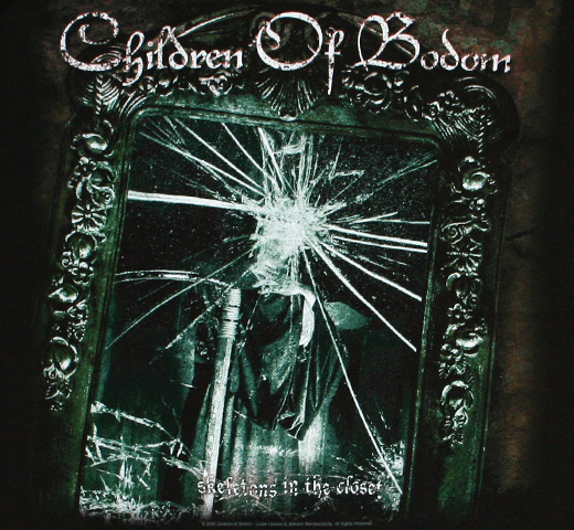 Children of Bodom / Skeletons in the Closet Tee