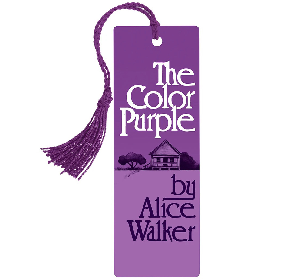 [Out of Print] Alice Walker / The Color Purple Bookmark