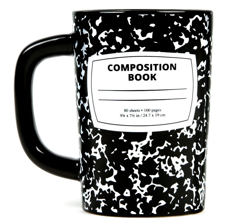 [Out of Print] Composition Book Mug