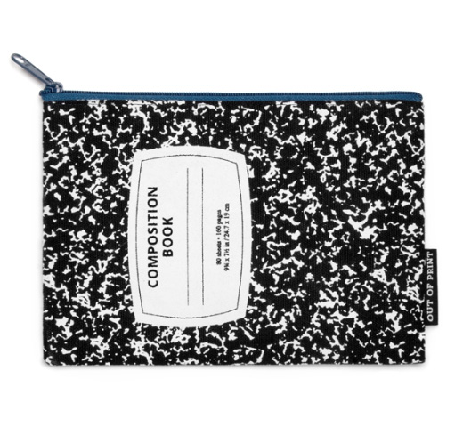 【Out of Print】 Composition Book Pouch