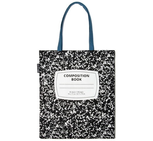 [Out of Print] Composition Book Tote Bag