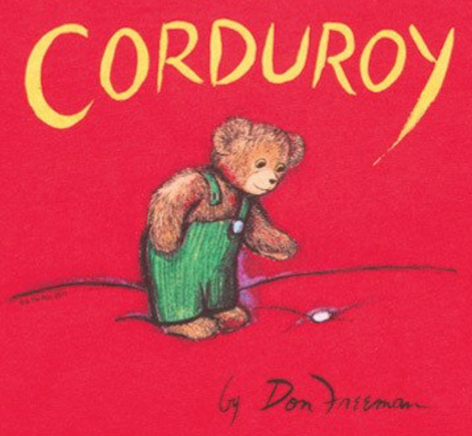 [Out of Print] Don Freeman / Corduroy Tee (Red) (Kids')