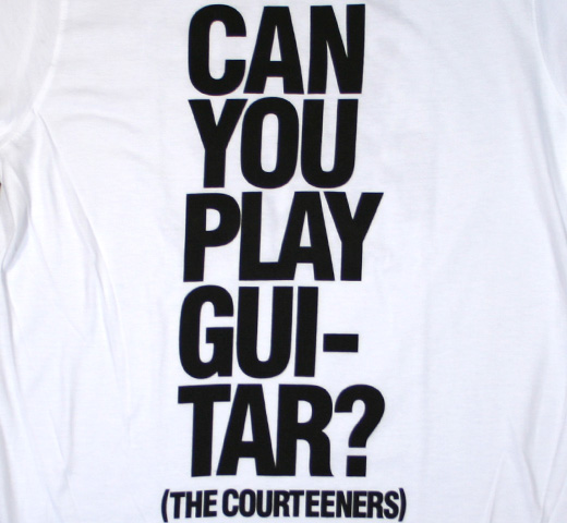 The Courteeners / Can You Play Guitar? Tee
