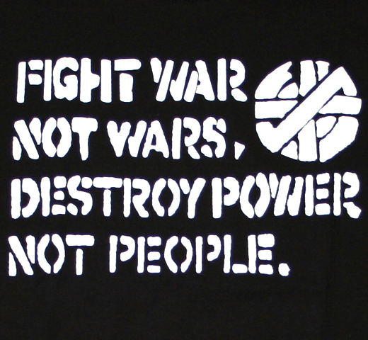 Crass / Fight War Not Wars Tee