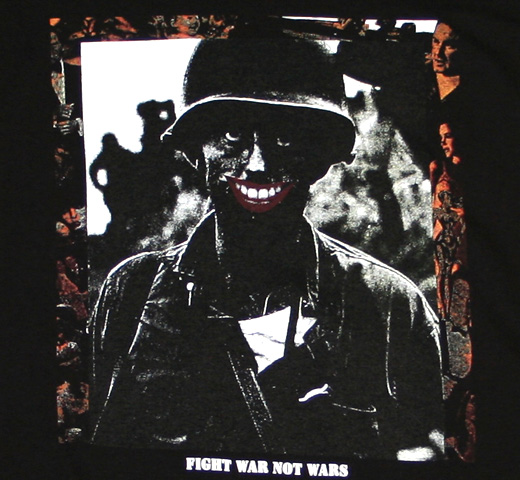 Crass / Fight War Not Wars Tee 2