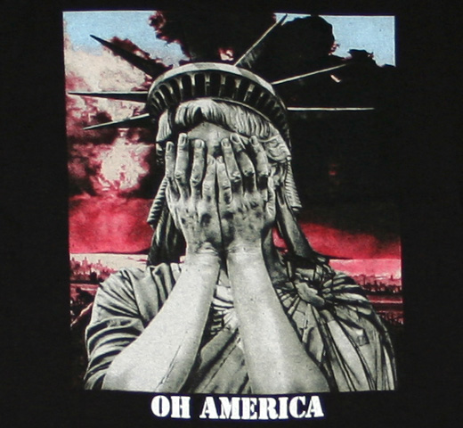 Crass / Oh America Tee
