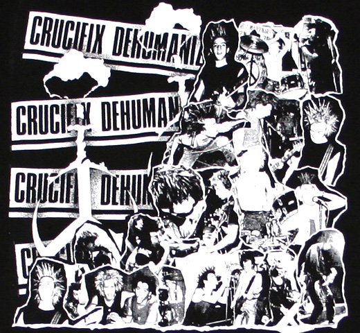 Crucifix / Dehumanization Tee