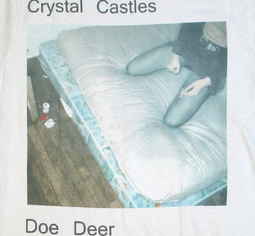 Crystal Castles / Doe Deer Tee (Cream)