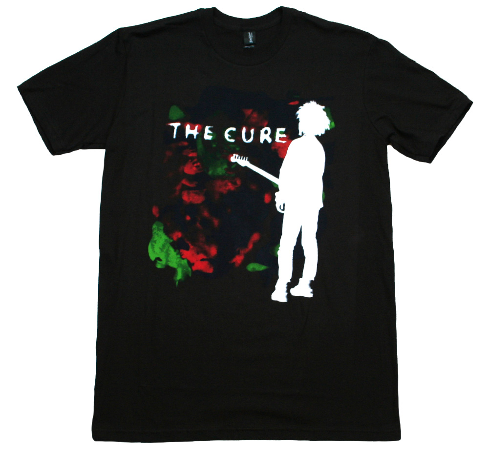 The Cure / Boys Don't Cry Tee (Black)