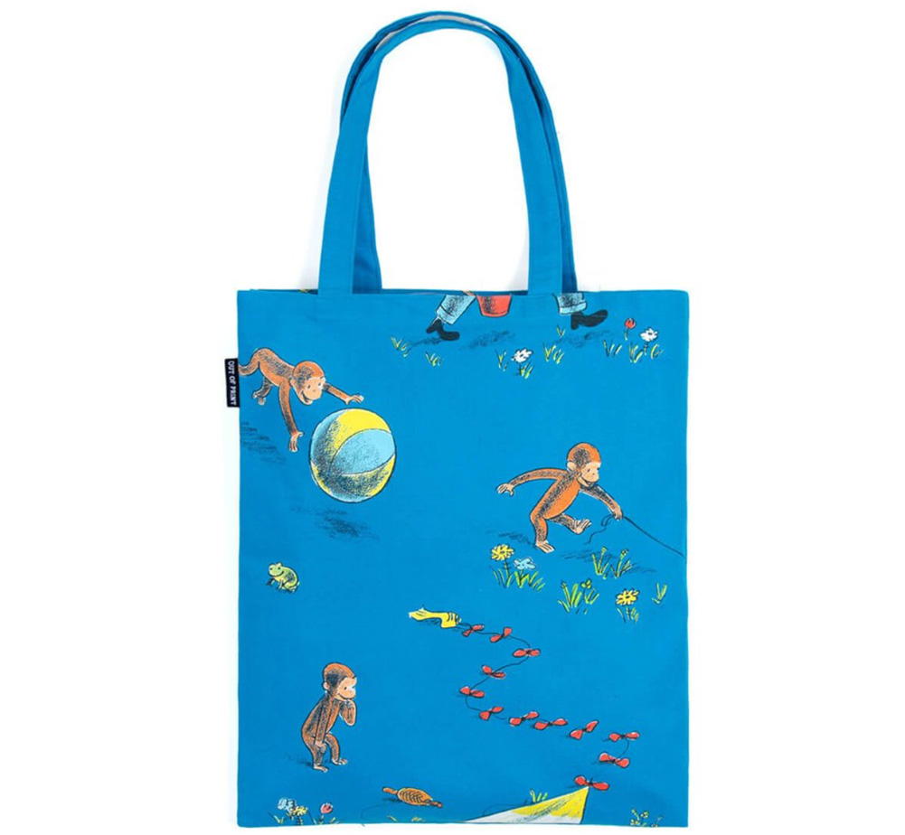 【Out of Print】 H. A. Rey and Margret Rey / Curious George Tote Bag