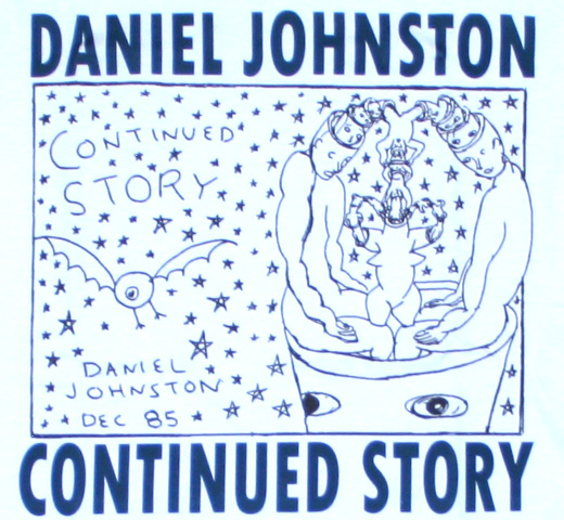 Daniel Johnston / Continued Story Tee (White)