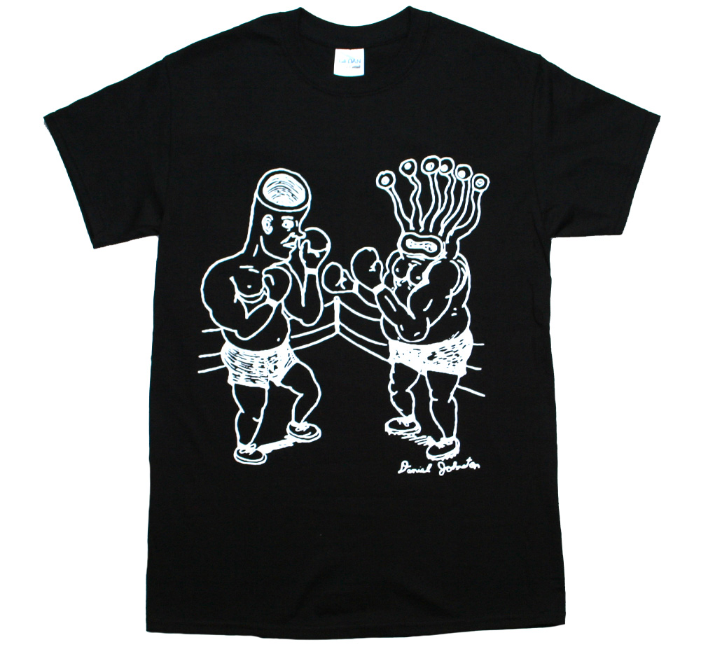 Daniel Johnston / Eternal Battle Tee (Black)