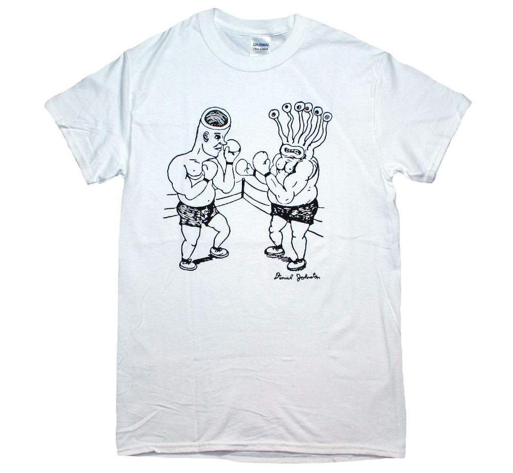 Daniel Johnston / Eternal Battle Tee (White)