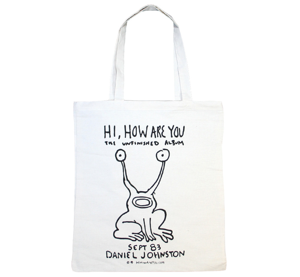 Daniel Johnston / Hi, How Are You Carry All Bag 2
