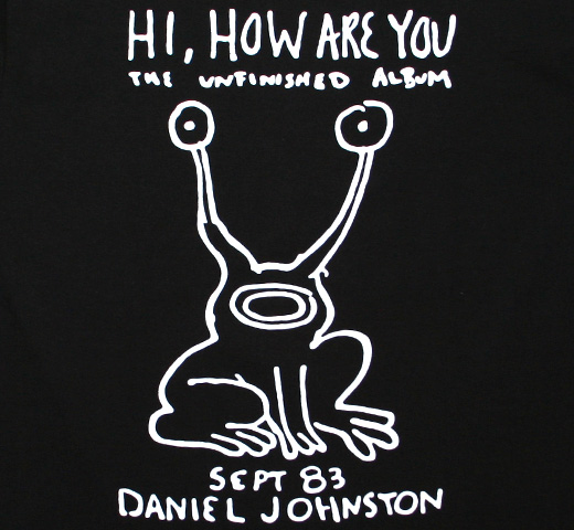 Daniel Johnston / Hi, How Are You Tee (Black)