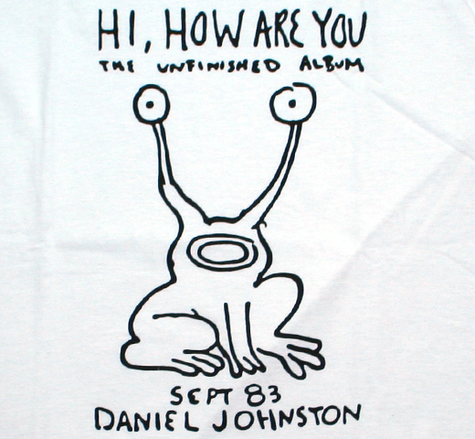Daniel Johnston / Hi, How Are You Tee (White)