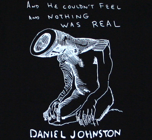 Daniel Johnston / Nothing Was Real Tee (Black)
