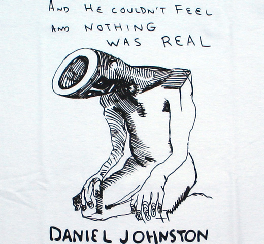 Daniel Johnston / Nothing Was Real Tee (White)