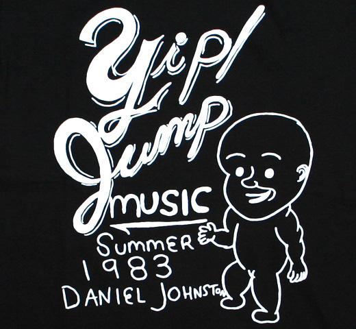 Daniel Johnston / Yip Jump Music Tee (Black)
