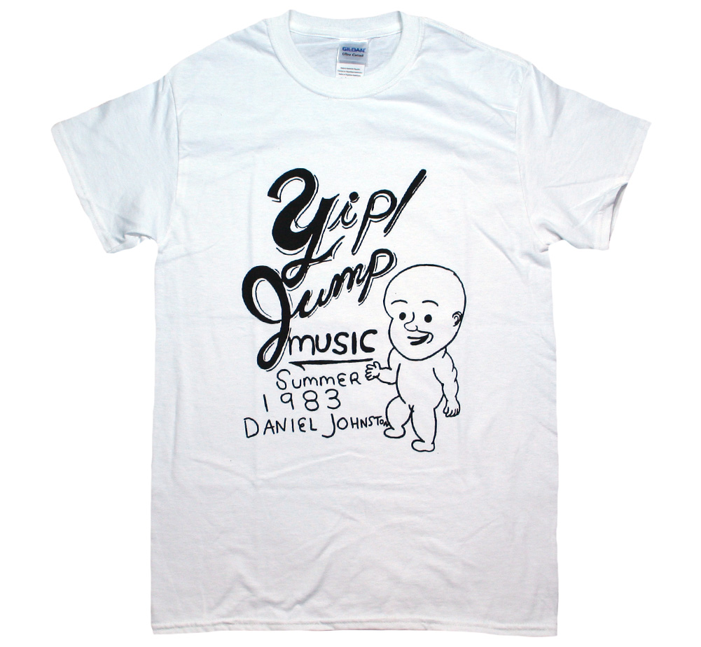 Daniel Johnston / Yip Jump Music Tee (White)