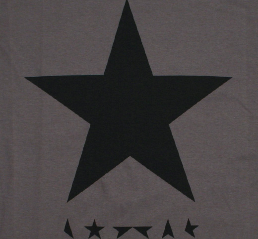 David Bowie / ★(Blackstar) Tee 3 (Grey)