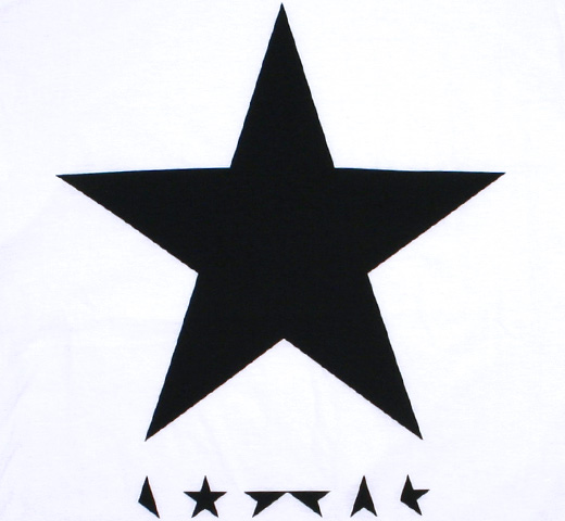 David Bowie / ★(Blackstar) Tee 4 (White)