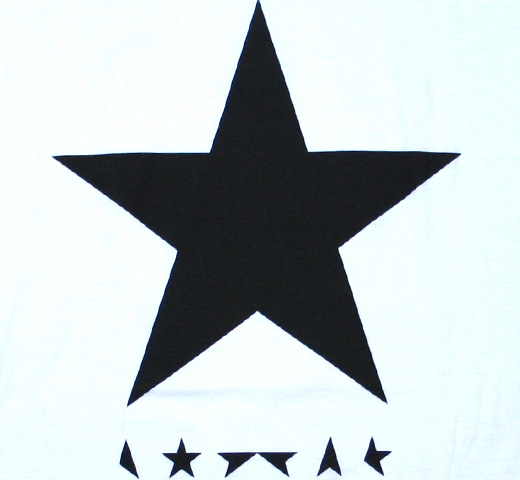 David Bowie / ★(Blackstar) Tee (White)